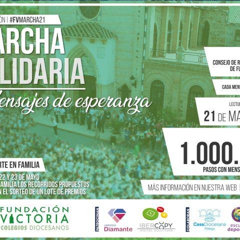 Mensajes de esperanza, protagonistas de la 3ª Marcha Solidaria de Fundación Victoria